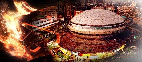 Место проведения Старладдер 3 - Shanghai Gymnastics Center dota2
