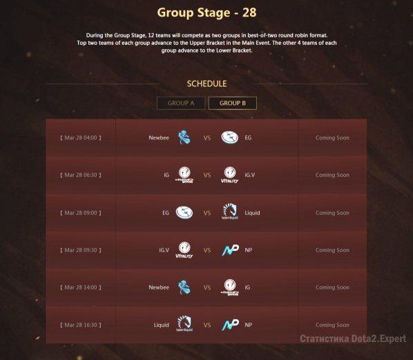 Расписание DAC 2017, группа Б, 28 марта 2017