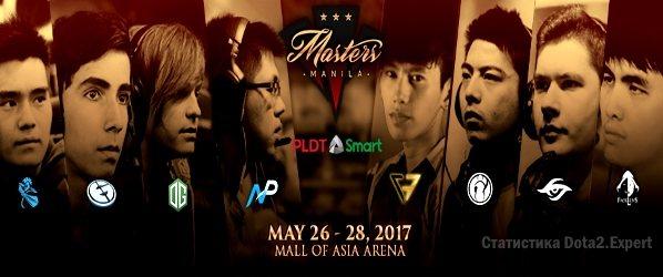 Manila Masters 2017 список участников и расписание турнира