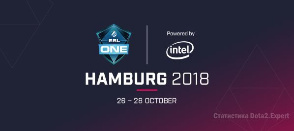 ESL One Hamburg 2018 — Сетка и расписание турнира