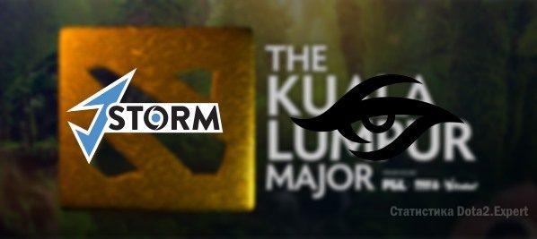 Прогноз Team Secret vs J Storm на Kuala Lumpur Major