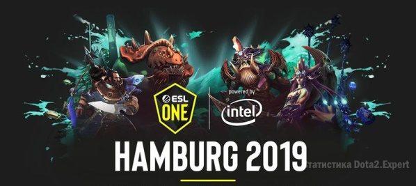 ЕСЛ Гамбург 2019 — Таблица и расписание турнира