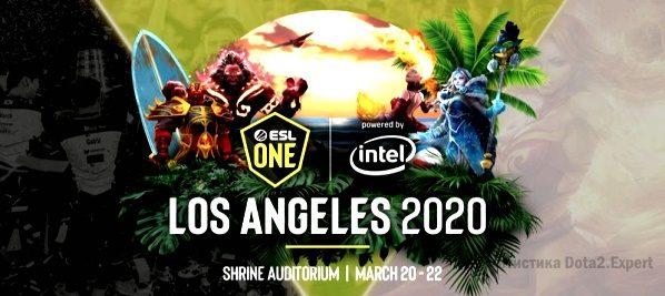 ЕСЛ Мажор 2020 Los Angeles — Сетка и турнирная таблица